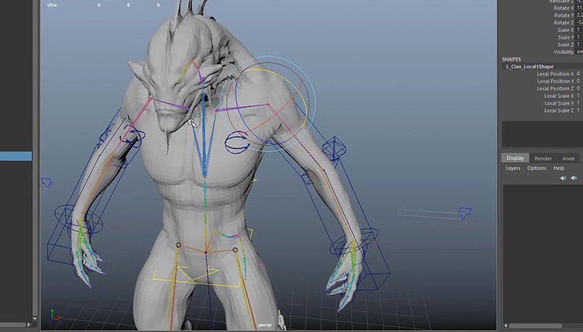 Character Rigging for Production